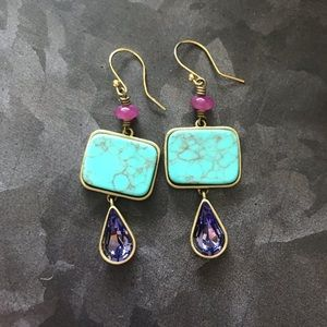 Silpada KR brand earrings